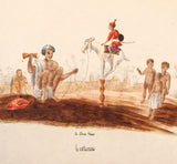 Unknown, 1834: A Show Man - Costumes - Fakir in India