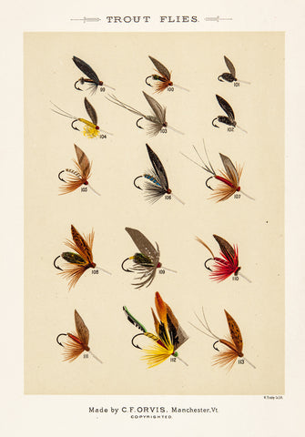Marbury, Mary Orvis: Trout Flies
