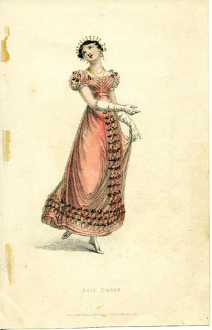Ackermann, Rudolph: Ball Dress