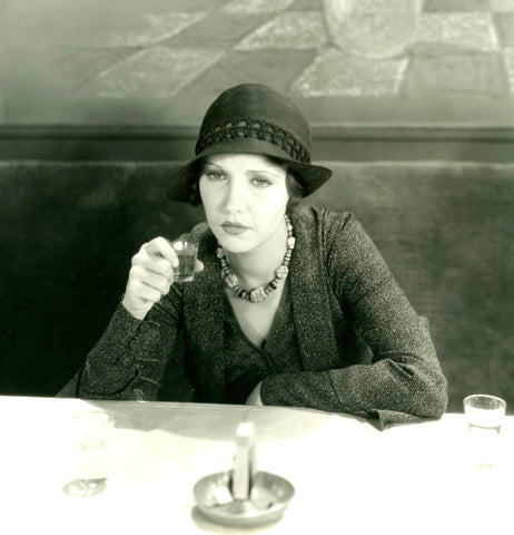Woman Drinking, 1920s film still