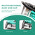 Enegitech 18 Gauge Cordless Brad Nailer Stapler, 18V 2 in 1 18GA Gun for Home Improvement Woodworking Small Projects Remodel Project Model No. DBAF50/40, Compatible with Makita 18V Lithium Battery