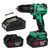 Enegitech 18V Impact Drill Driver ET05 Cordless Electric Power Tools Combi Kits with Battery and Charger