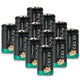 CR2 Battery 3V Lithium 800mAh Batteries  12Pack Upgraded Version (Non-Rechargeable)