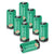 Rechargeable CR123A Lithium-ion Battery 750mAh 8 Pack