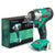18V Lithium-ion Impact Wrench Power Tool with Battery and Fast Charger