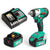 Enegitech 18V Lithium-ion Cordless Impact Wrench Power Tool Combi Kits with Battery and Fast Charger