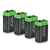 9V Lithium Battery 1200mAh Non-Rechargeable