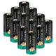 CR123A Lithium Batteries 3V Battery 1600mAh 12Pack Upgrade Version(Do Not Recharge)