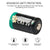CR2 3V Lithium Battery 800mAh 6Pack DL-CR2 Batteries Upgraded Version (Non-Rechargeable)