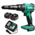 Enegitech 18V Cordless Rivet Gun Brushless Lithium-ion Automatic Blind Rivet Tool for 3/32