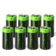 For Arlo Batteries Rechargeable RCR123A 3.7V - 8 Pack