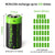 For Arlo Batteries Rechargeable RCR123A 3.7V - 4 Pack