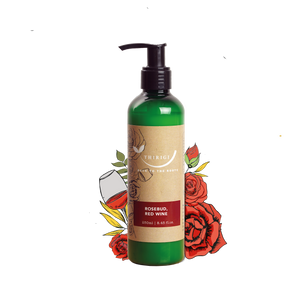 Face & Body Moisturizer (Red Wine, Rosebud Oil & Vitamin-E)
