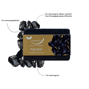 Black Magic - A Handmade Luxury Soap
