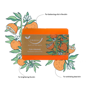 Fun Orange - A Handmade Soap