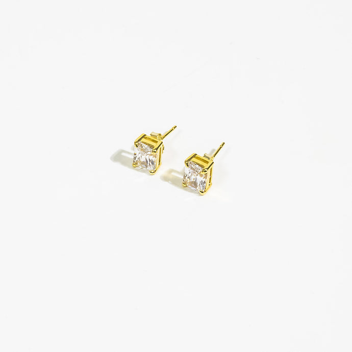 Built On Self Success (BOSS) Collection - Gold Simply Stunning Studs