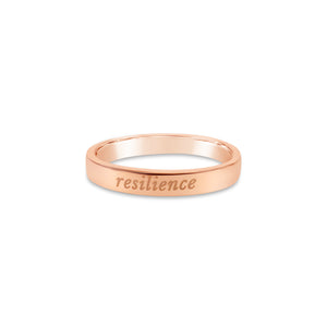 Resilience Ring - 14k Rose Gold Plated