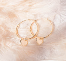 Load image into Gallery viewer, Self-Love Collection - Gold Hoop Earrings