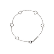 Load image into Gallery viewer, Self-Love Collection - Rhodium (White Gold) Bracelet