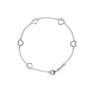 Self-Love Collection - Rhodium (White Gold) Bracelet