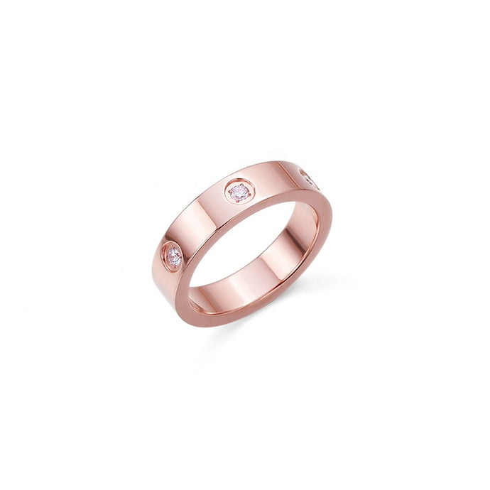 Modern Essentials - Rose Gold Ring - Crowned