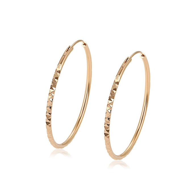 Modern Essentials - Empire Hoops Earrings