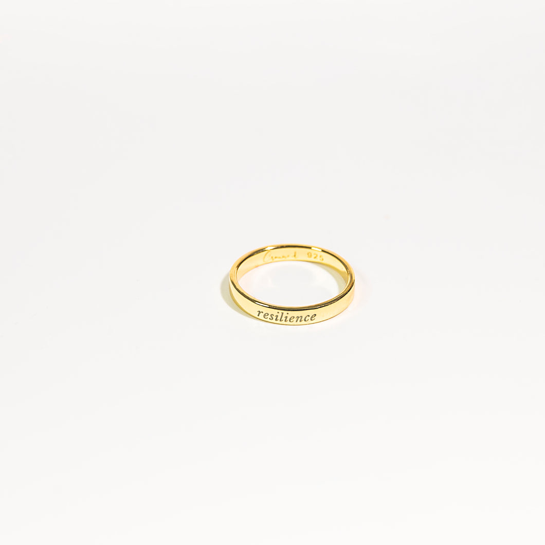 Resilience Ring - 14k Gold Plated