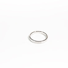 Load image into Gallery viewer, Resilience Ring - Rhodium (White Gold) Plated