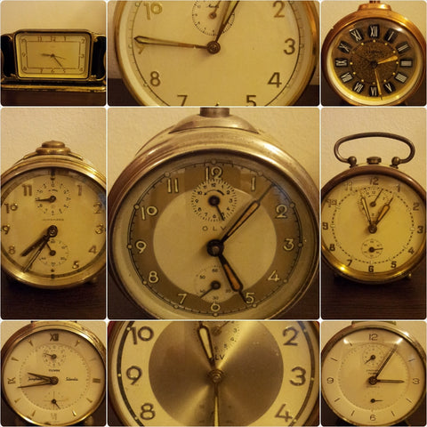 Antique Alarm Clocks