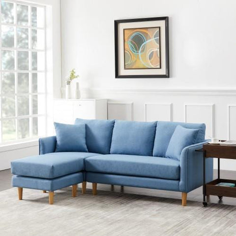 Polyester Fabric Corner Sofa For Living Room