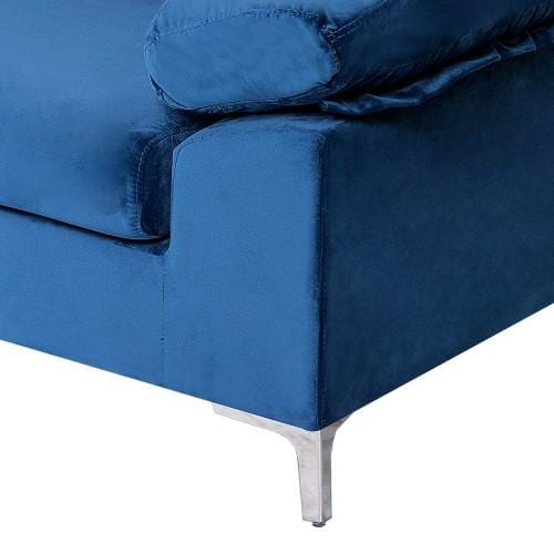 Sectional Sleeping Sofa, Suitable For Living Room Blue