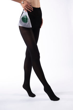 Bio Degradable Tights - Charcoal (40 DEN) - FourTwentyTwo USA