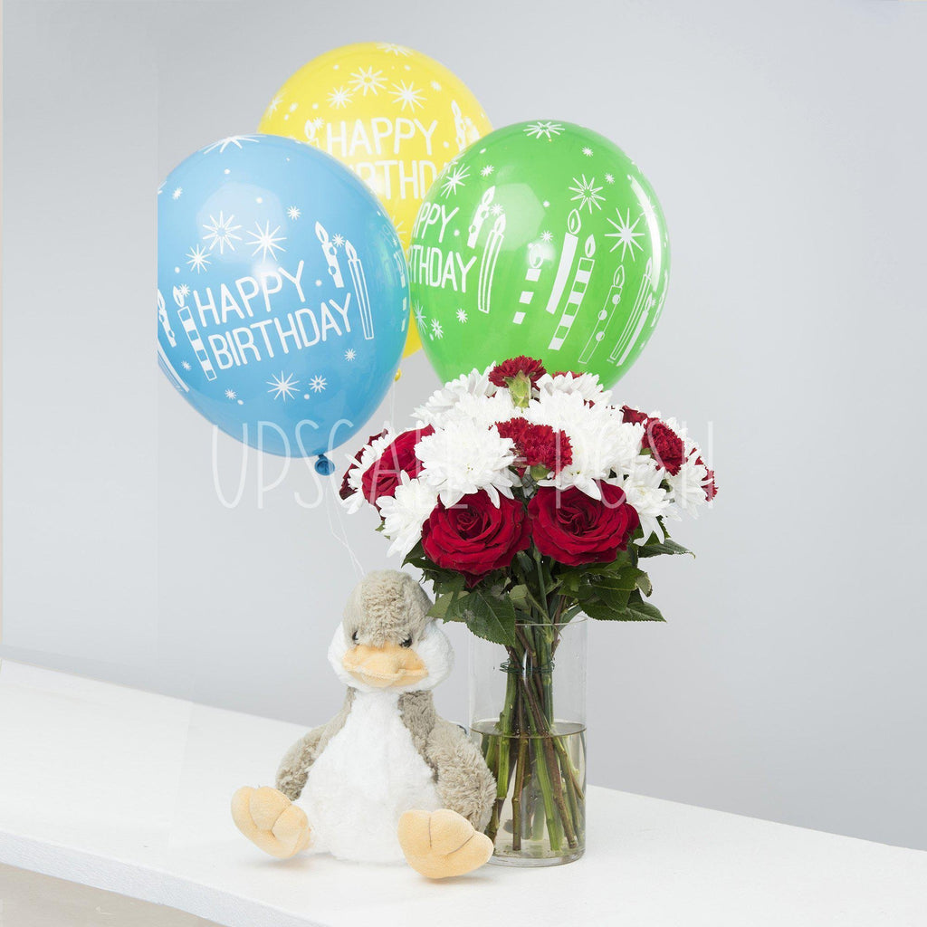 Always Yours Birthday Combo - Upscale and Posh - Same Day Flower Delivery Dubai