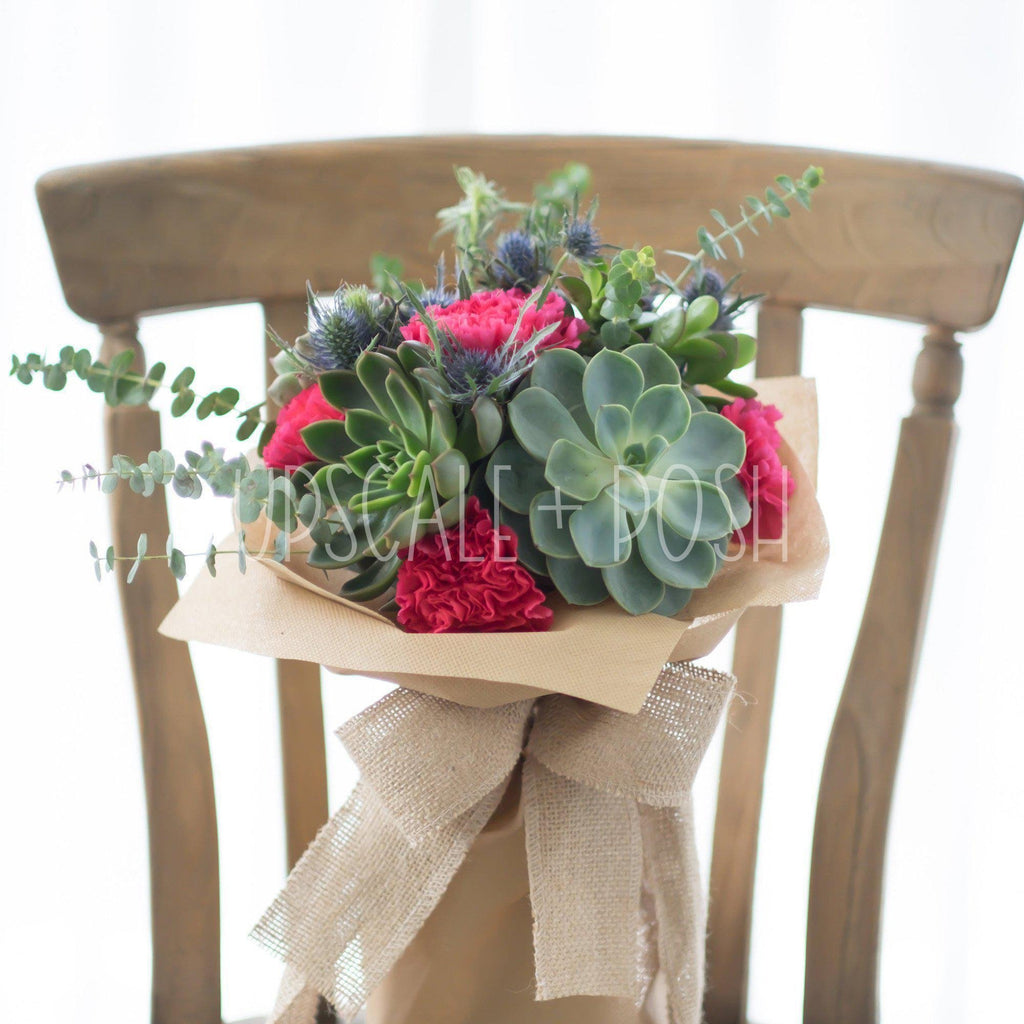 Bonny Highland Bouquet - Upscale and Posh - Same Day Flower Delivery Dubai