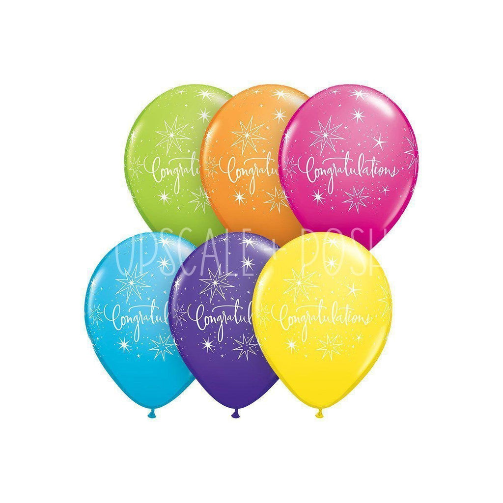 Congratulations Balloon - 15pcs. - Upscale and Posh - Same Day Flower Delivery Dubai