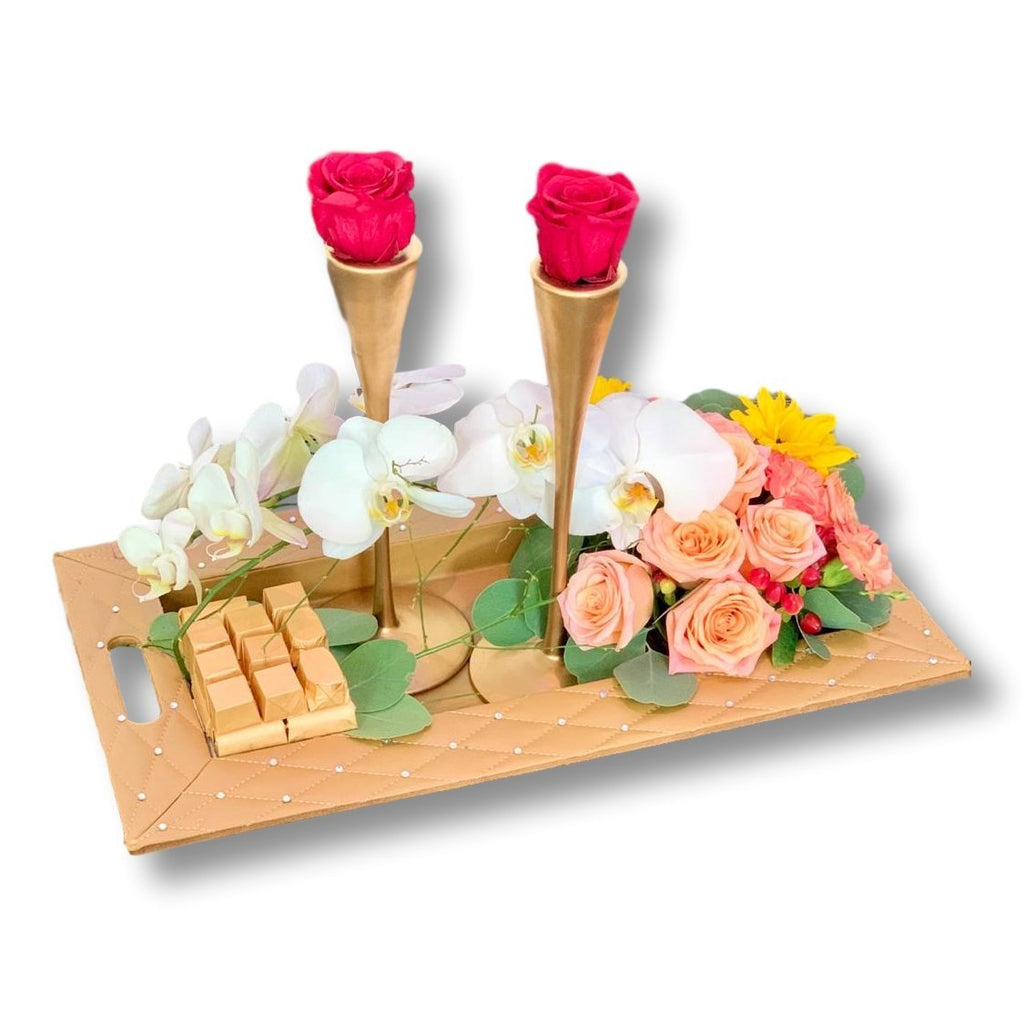Flowering Candle Light - Upscale and Posh - Same Day Flower Delivery Dubai