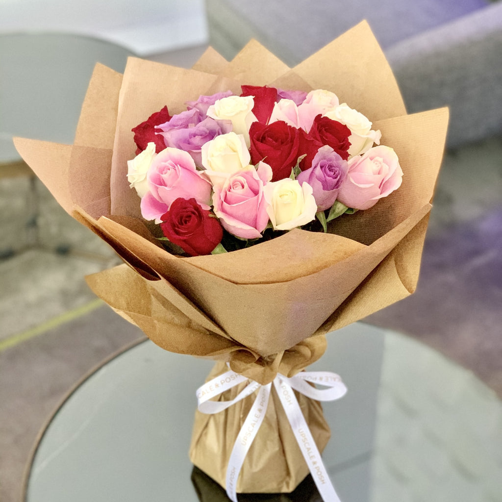 Luxury Mixed Roses - Upscale and Posh - Same Day Flower Delivery Dubai