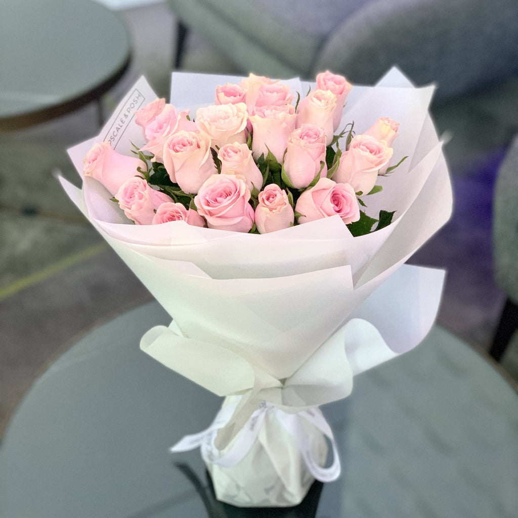 Luxury Pink Roses - Upscale and Posh - Same Day Flower Delivery Dubai