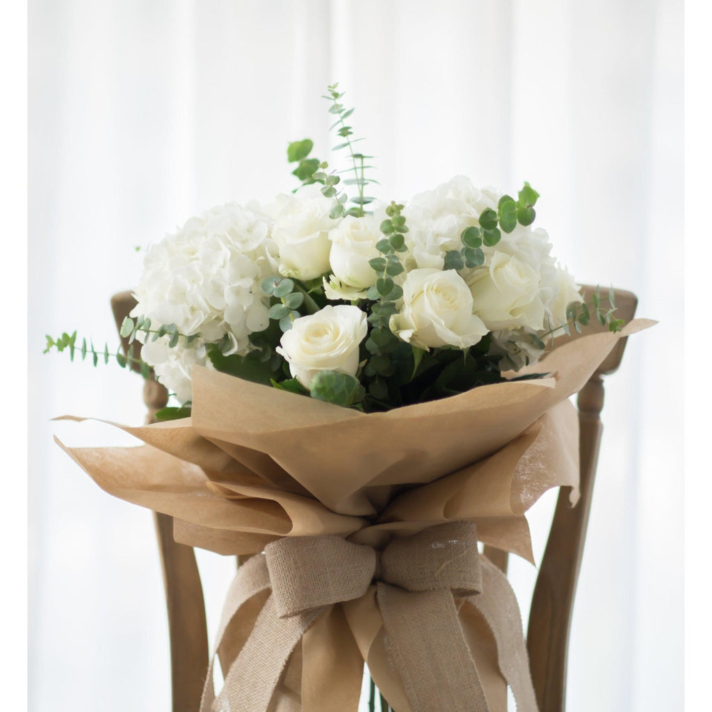 Natures Purity Bouquet - Upscale and Posh - Same Day Flower Delivery Dubai