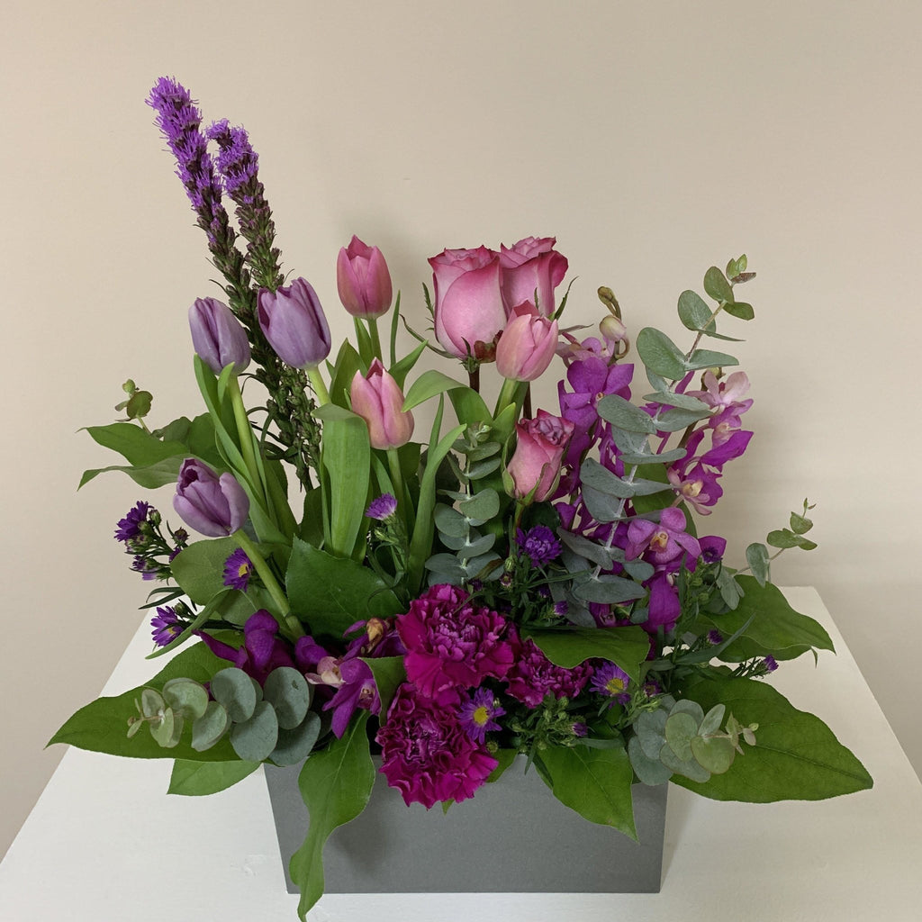 Purple Passion - Upscale and Posh - Same Day Flower Delivery Dubai