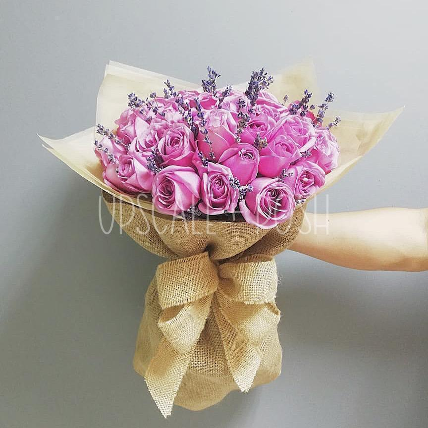 Simple Sophistication Bouquet - Upscale and Posh - Same Day Flower Delivery Dubai