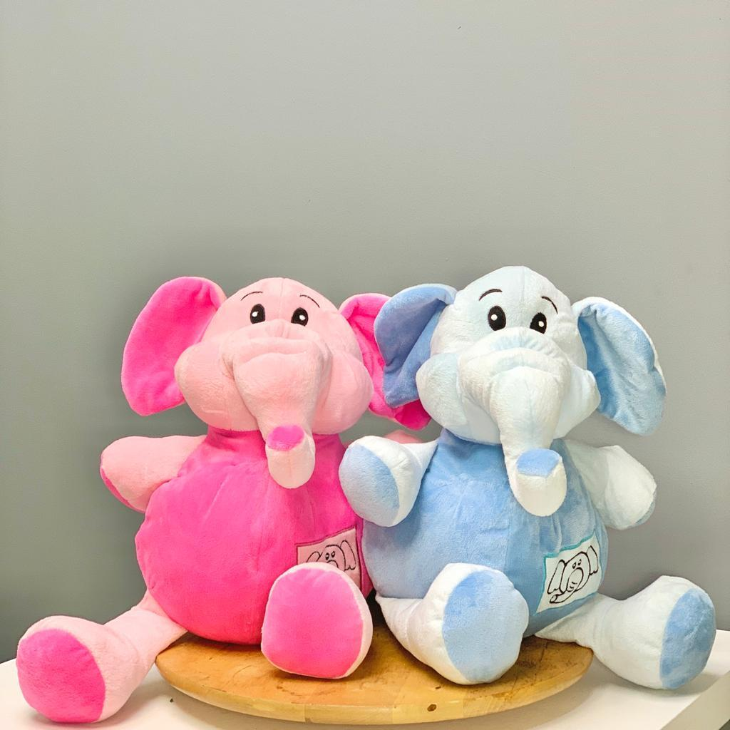 Soft Toy Add On - Elephant - Upscale and Posh - Same Day Flower Delivery Dubai