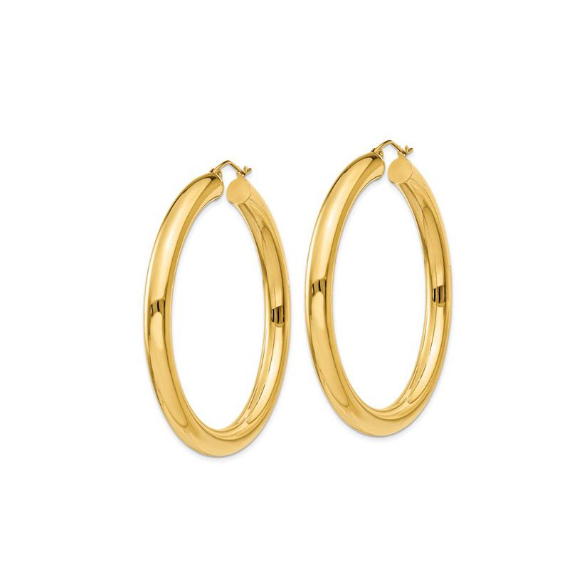 TUBE HOOP EARRINGS (5mm Width)