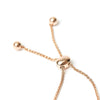 DIAMOND DRAWSTRING BRACELET - 14K Yellow Gold - 14K White Gold - 14K Rose Gold
