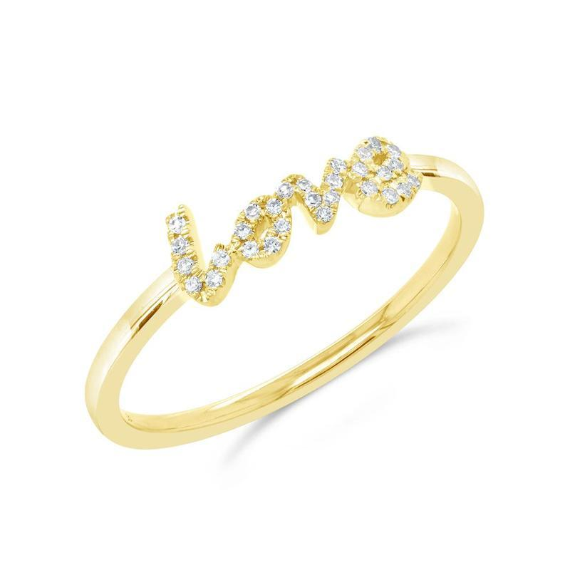 MINI DIAMOND LOVE RING