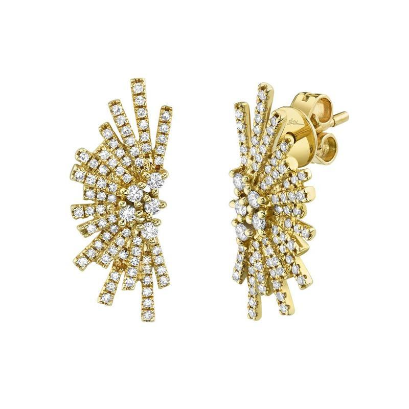 DIAMOND BURST EARRINGS
