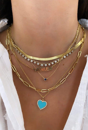 necklace stack