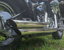 Load image into Gallery viewer, Suzuki Boulevard M109 R Custom Sports Exhaust system (Polished)