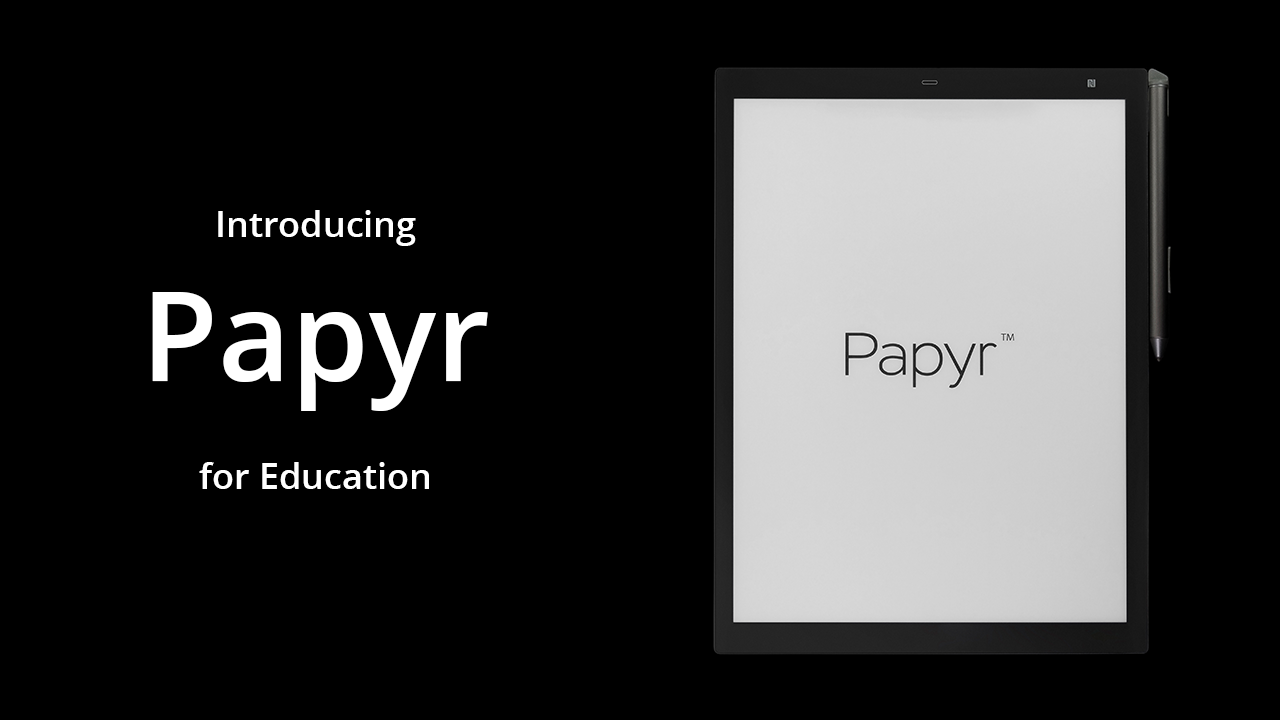 Papyr for Education Video