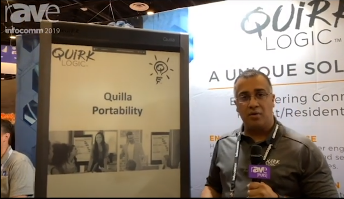 QuirkLogic: InfoComm 2019 - Portability Video